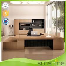 mobilier de bureau moderne design nouveau design mdf de luxe table en bois modulaire mobilier de
