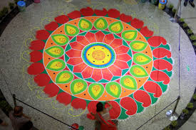 check out these dazzling rangoli designs for diwali time