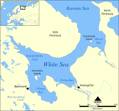 Map Of Russia And China by White Sea Wikipedia