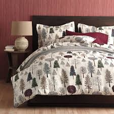 Forest Bedding Sets Forest Trails Flannel Sheets Bedding Set The Company Store