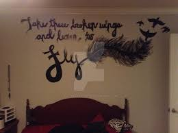 my bedroom wall mural by wolfprincess selby on deviantart