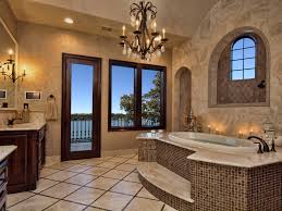 beautiful luxury master bathroom shower in interior design for