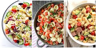 download quick and easy cold pasta salad recipes food photos
