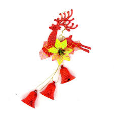 cheap for deer hanging decorations bells tree baubles