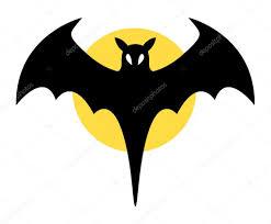 halloween bat clip art bat sign halloween vector illustration u2014 stock vector baavli