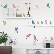 nature wall decals paisley birds on a wire in living room paisley birds on a wire wall decals