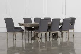 Dining Room Table Chairs by Caira 9 Piece Extension Dining Set Living Spaces