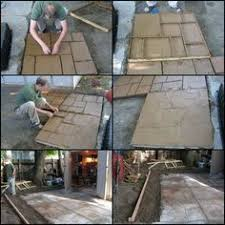 Diy Cement Patio by Like The Idea Of A Cobblestone Path But Don U0027t Think You U0027re Up To