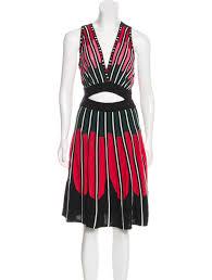 abstract pattern sleeveless dress m missoni patterned sleeveless dress w tags clothing wm446149