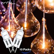 Spotlight Chandelier 10pcs Ynl Led G4 L Halogen 20w Dc12v Lada Lara