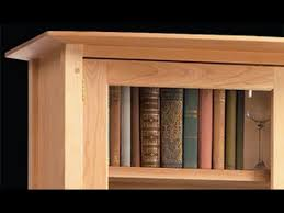 Cherry Wood Bookcase With Doors Bookcases With Doors Cherry Wood Bookcases With Doors