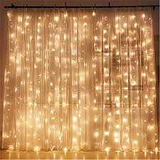indoor string lights twinkle 300 led window curtain string light for