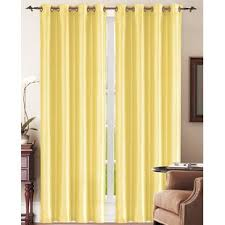 Yellow Brown Curtains Bright Yellow Curtains Wayfair