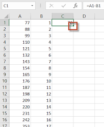 worksheet function fill a large range with a formula in excel