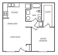 One Bedroom House Plans With Photos by One Bedroom Apartment Floor Plans