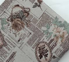 english newspaper pattern english newspaper pattern printed linen cotton fabric diy cloth for
