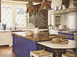 blue french country kitchen home design ideas and pictures