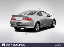 acura rsx 2006 acura rsx type s in silver rear angle view stock photo