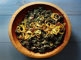 creamed collard greens with peanut butter and chile recipe saveur