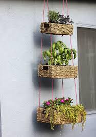 Hanging Plants For Patio 8 Ingenious Small Space Garden Hacks Small Patio Herbs Garden