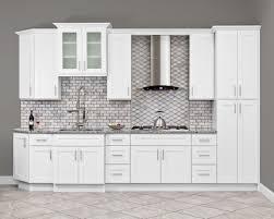 kitchen wall cabinets lesscare alpina white cabinets