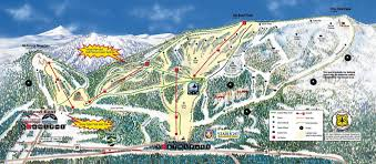 Mt Hood Trail Map Mt Hood Skibowl