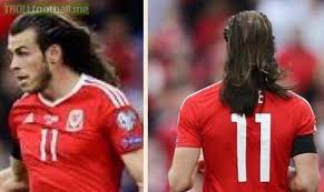gareth bale hairstyle photos gareth bale s hair is on another level troll football