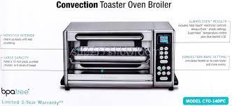Toaster Oven Temperature Control Cuisinart Stainless Steel Exact Heat 1500 Watt Convection Toaster
