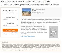 estimating the cost to build your house plan time to build