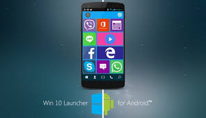 apk laucher win 10 launcher apk free personalization app for