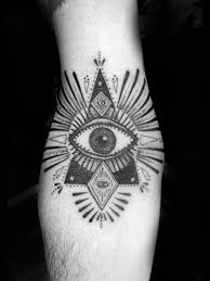 cool black egyptian eye tattoo tattoomagz
