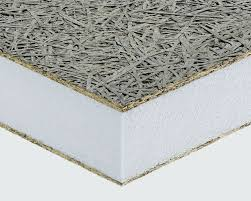 roof insulating sandwich panel for walls fiber facing