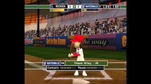 backyard baseball 10 part 1 wii on wii u youtube