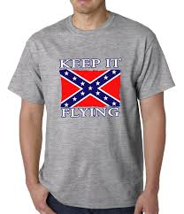 Redneck Flags Keep It Flying Confederate Flag Mens T Shirt