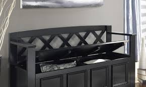 fearless contemporary storage bench tags small upholstered bench