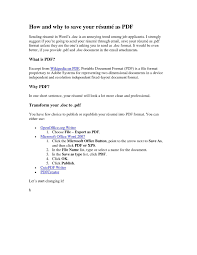 Scannable Resume Keywords Resume Pdf Format Resume Cv Cover Letter