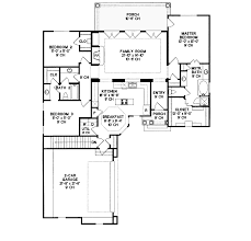 ranch home layouts morton creek ranch home plan 026d 1346 house plans and more