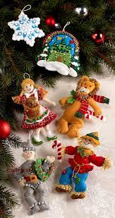 well suited ideas christmas tree ornament kits innovative vintage