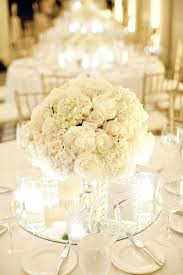 white flower centerpieces white bouquet with bling picmia