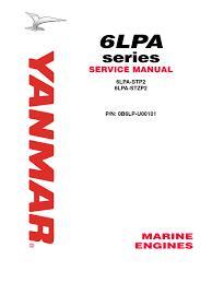 yanmar marine engine 6lpa stp2 6lpa stzp2 service repair workshop