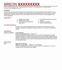 Sanitation Worker Job Description Resume by Best Crew Member Resume Example Livecareer