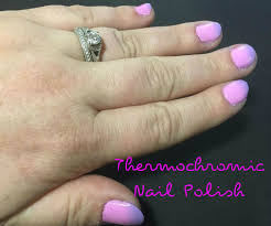thermochromic nail polish 5 steps with pictures