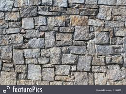 stone wall texture image of dry stack stone wall