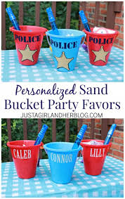 personalized party favors personalized sand party favors just a girl and