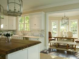 satin nickel white kitchen love everything about this 2 tone countertops transitional kitchen tracy morris design