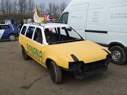vauxhall yellow banger racing vauxhall astra