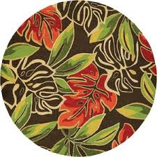 Hibiscus Rug Tropical Outdoor Rugs You U0027ll Love Wayfair