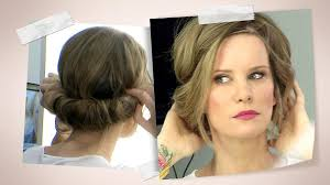 Verspielte Hochsteckfrisurenen Selber Machen by Frisuren Mit Haarband Hochsteckfrisuren Selber Machen