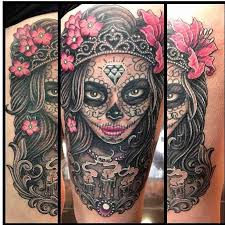 day of the dead tattoos pinterest tattoo tatting and piercings