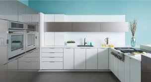 Kitchen Cabinet Carcases White Gloss Painted Doors Plywood Mdf Carcases Modern Kitchen